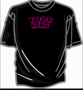 Printed Hen T-Shirts   includes full colour photo printing