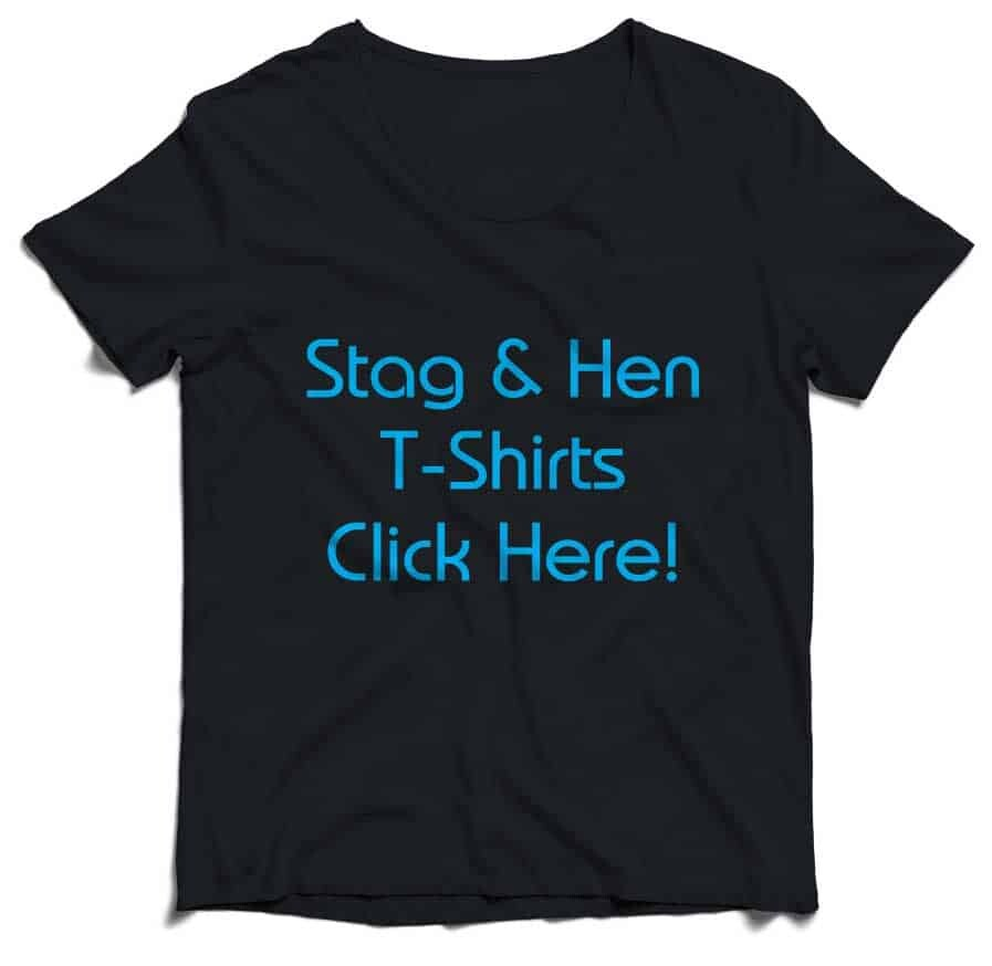 We print Stag & Hen T-shirts. Single or full colour photographs