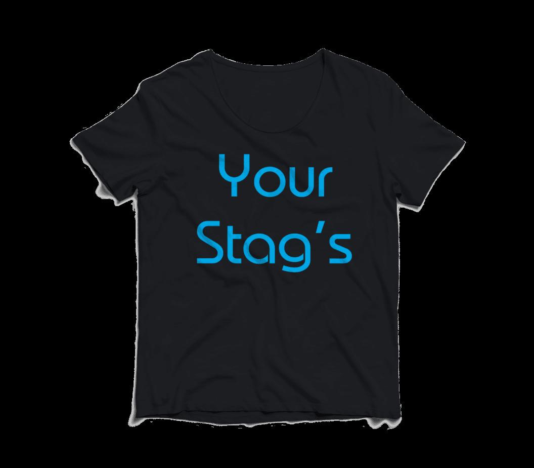 Printed stag t-shirts full colour prints cheap stag tshirts