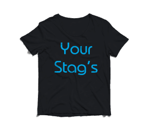 stag cheap tshirts printed stag tshirts in full colour photo