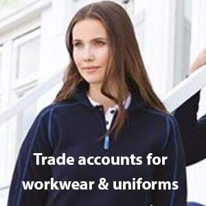 Apply for a Workwear & Uniform Trade Account with the Printed T-Shirt Shop